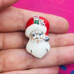 Avon Christmas pin Santa Clause